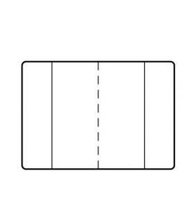 Obal na žiacku knižku č. 117 far. mix 100µm 305x215mm