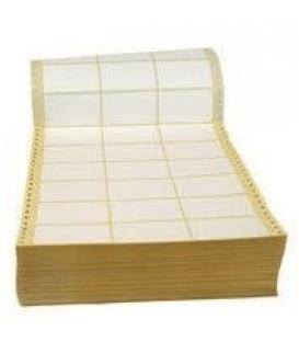 Etikety tabelačné 50x30 mm biele 27ks/hárok