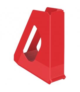 Stojan na časopisy plastový Europost Vivida 623935 červený