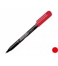 Popisovač 2846 červený permanent 1,0 mm