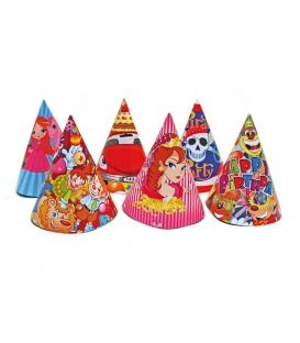 Párty klobúk 16cm - 6ks