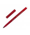 Popisovače COLOUR WORD vyprateľné ergo 7550 červený 1,0 mm