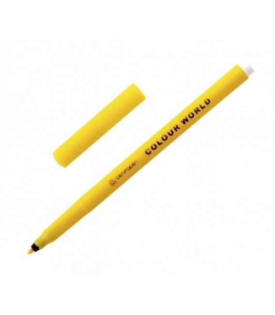 Popisovač 7550 žltý