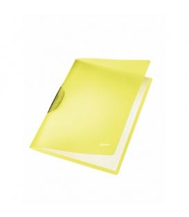 Obal A4 s klipom LEITZ COLOR CLIP Rainbow 41760015 žltý