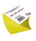 Špalík 80x80x50 mm točený žltý