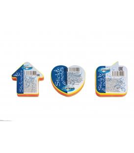 Samolepiace bločky mini 5 farieb Neon 100 lístkov