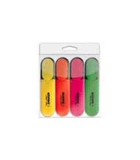Zvýrazňovač BRIGHT LINER 4 farby