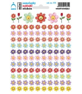 Samolepky mini - kvetinky