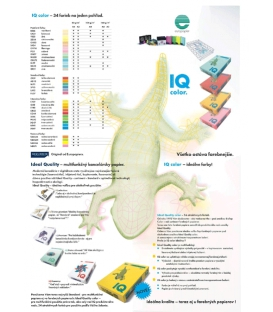 Kopír. papier A3 IQ neon. ZELENÁ 80g, 500 hárkov