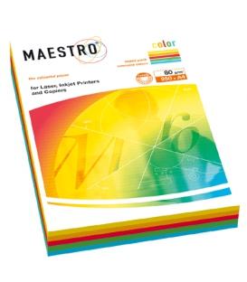 Kopír. papier MAESTRO Color A4 80g intenziv