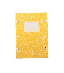 Doska A4 spisová mramor žltý