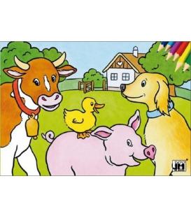 Maľovanka A5 Domáce zvieratá