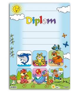 Diplom A4 papierový - detský I