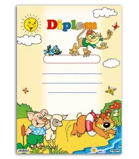 Diplom A4 papierový - detský II