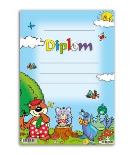 Diplom A5 papierový - detský I