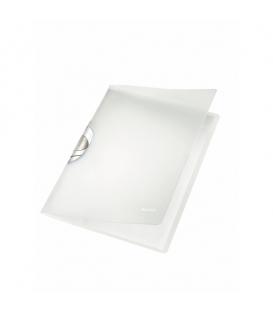Obal A4 s klipom LEITZ COLOR CLIP Profesional 41660001 biely