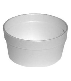 Miska 340 ml na polievku okrúhla termo, 25 ks