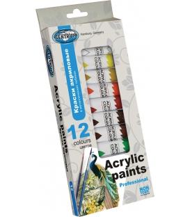 Akrylové farby 12x12 ml