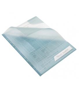 Obal LEITZ závesný COMBI FILES, 5 ks, transparentný modrý   47260035