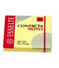 Samolepiaci bloček CONTACTA 83003 75x75 mm žltý
