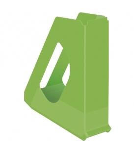 Stojan na časopisy plastový Europost Vivida 623938 zelený