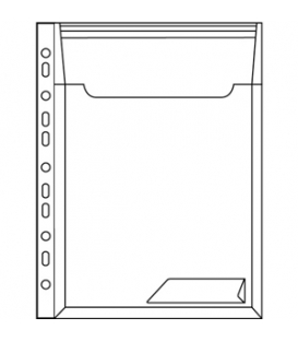 Obal LEITZ závesný COMBI FILES rozšírený, 3 ks, transparentný číry   47270003