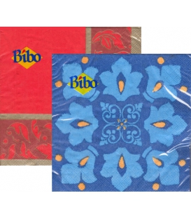 Servítky MODERN mix BIBO 33x33 cm, 20 ks, 3 vrst.