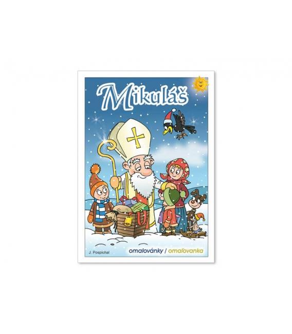 Maľovánka A5 - Mikuláš