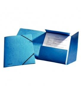 Mapa 253 prešpán/guma 26595 modrá