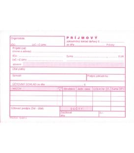 Príjmový pokladničný doklad daňový NCR, 100 listov