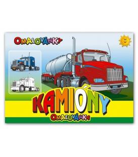 Maľovanka A5 - Kamióny