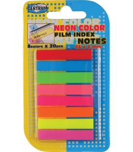 Záložky Neon 45x8mm 8far 160ks