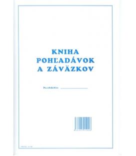 Kniha pohľadávok a záväzkov A4 10190, 20+20 listov