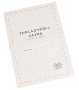 100352   POKLADNIČNÁ KNIHA ČÍSLOVANÁ 50x2 list.