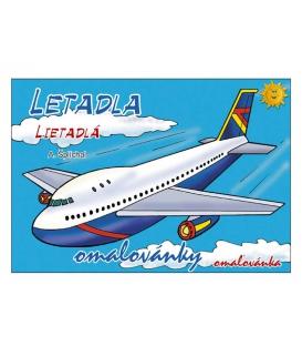 Maľovanka A5 - Letadlá