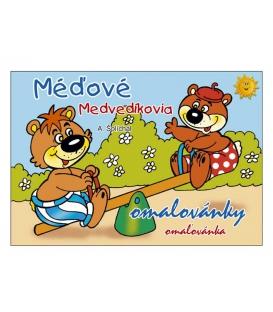 Maľovanka A5 - Medvedíkovia