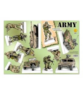 Vystrihovačky - Army