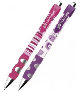 Pero guľôčkové Venturio fialové, ružové 0,7mm