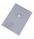 Plastový obal s cvokom A6 priehľadný