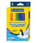 Značkovače 8580 6-farebné Transparent 1,0 - 6,0 mm