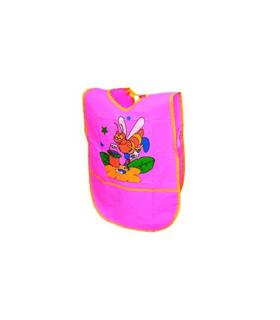 Zástera z PVC na výtvarnú výchovu bez rukávov 33,5x47 cm - mix motívov
