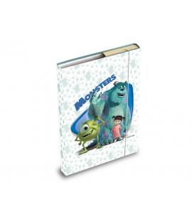 Školské dosky, box s gumou A5 motív Monsters