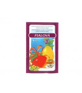 Veľkonočná farba potravinárska 5g - fialová