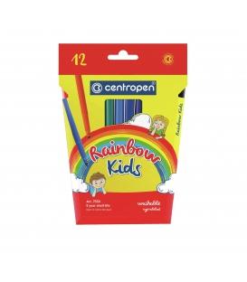 Popisovače RAINBOW KIDS vyprateľné, ergo 1,0 mm