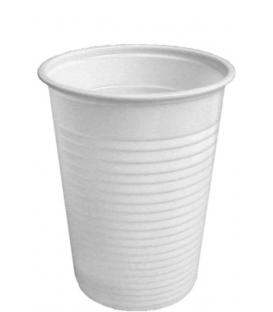 Plastový pohár biely 100 ml na studené nápoje
