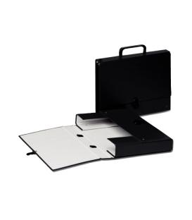 Aktovka kartónová čierna - 99337