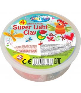 Plastelína ľahká v kelímku 4 kusy á 16 g.