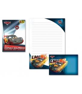 Dopisný papier - konfekcia Cars