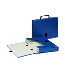 Aktovka kartónová modrá - 99335