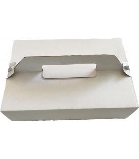Krabica na zákusky s uchom pevná 27x18x8cm